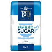 TATE and LYLE GRANULATED SUGAR 1KG 49P Instore