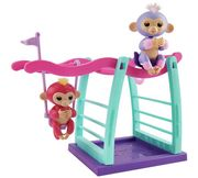 WowWee Fingerlings Monkey Playset with Two Monkeys Only £14.99