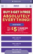 Buy 3, Get 3 Free Absolutely EVERYTHING!