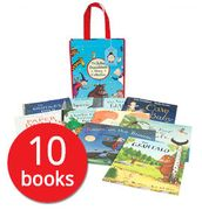 Julia Donaldson 10 Picture Books Collection - including THE GRUFFALO