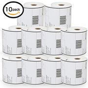 10 Rolls Dymo S0904980 Compatible 4XL Internet Postage