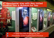 4* Manchester Stay with Man United Stadium Tour & Museum for Two