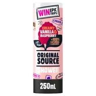 Tesco Original Source Vanilla Source Straenerry and Raspberry Shower Gel