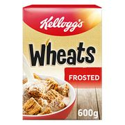 Kellogg's Frosted Wheats 600 G, Pack of 5