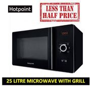 Fabulous Cheap Price! save £80! 25L Hotpoint Microwave with Grill. 62% OFF