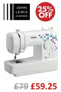 25% off Brother LK14S Sewing Machine - Ideal for Beginners!