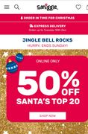 50% off Santa's Top 20 | Online Only