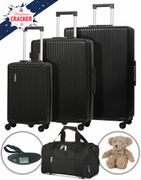 5 Cities Hard Shell Suitcase Set with Free Luggage Scale