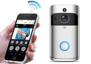 Smartphone Video Doorbell - with Intercom - 2 Colours & Optional SD Card