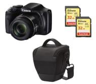 CANON PowerShot SX540 HS Bridge Camera & Accessories Bundle