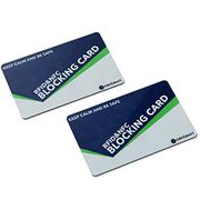 RFID/NFC Blocking Cards (2 Pack) by CENTAVRI | Contactless Cards Protection
