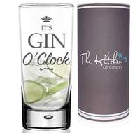 Gin O Clock Glass