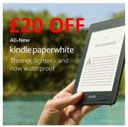SAVE £20 - All-New Kindle Paperwhite 32 GB. Now Waterproof & Twice the Storage