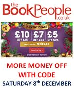 More Money Off! Saturday 8th December Discount Code - The Book People
