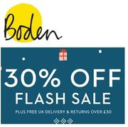 FLASH SALE! at Boden. Save 30%