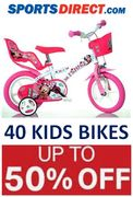40 KIDS BIKES - up to 50% OFF