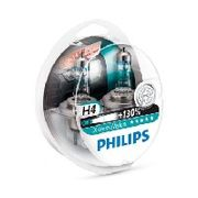 Philips Xtreme Vision plus 130% Extra Light - H4 Twin Pack Less than Half Price