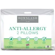 Downland Anti-Allergy Pillows 2pk