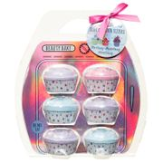 Beauty Bake Cupcake Bath Fizzers 6pk
