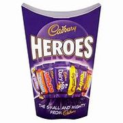 Any 3 for £5 Roses, Quality Street, Heroes, Eclairs, Etc