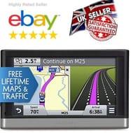 Garmin DriveSmart 51 LMT-S 5 Inc Sat Nav UK Lifetime Maps & Live Traffic WI-FI
