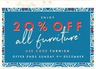20% off All Furniture