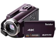 4K Wi-Fi Ultra HD Camcorder 48MP Video Camcorder