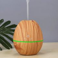 USB Ultrasonic Mute Mist Wood Grain Aromatherapy Humidifier