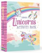 Unicorns Activity Pack 3 Books with Poems Stickers and Transfers Etc