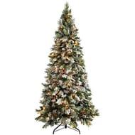 Christmas Tree, 1.8 M - 6 Feet with 300-LED, White