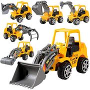Acecoree 6Pcs Construction Vehicle Truck Push Engineering Toy Cars Children