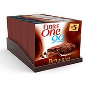 Fibre One 90 Calorie Chocolate Fudge Brownies 24g (Pack of 25 Bars)