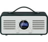 SANDSTROM Portable DAB+/FM Bluetooth Radio - Green + Free 3 Months Deezer