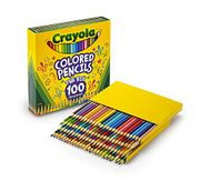 Crayola Colouring Pencils, Pack of 100