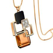 Square Multi Layered Necklace