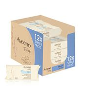 HALF PRICE MONDAY DEAL: Aveeno Baby Wipes - Pack of 12 (864 Wipes)