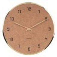 Karlsson Modest Cork Wall Clock - Gold!