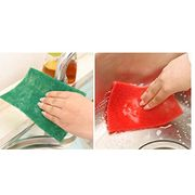 Dadiku Washing Cleaning Dishes Dries Quickly Multi-Color Kitchen Sponges Cloths