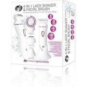 Rio 4-in-1 Lady Shaver and Facial Brush Free C&C