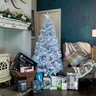 6ft Woodland Spruce Christmas Tree - White