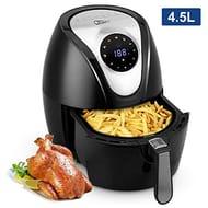 Uten Fryers 4.5L Air Fryer with Detachable Basket