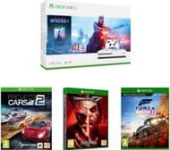 Xbox One S, Battlefield V, Tekken 7, Forza Horizon 4 & Project Cars 2 Bundle