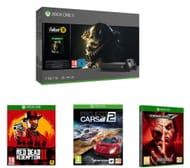 Xbox One X, Fallout 76, Red Dead Redemption 2, Tekken 7 & Project Cars 2 Bundle