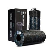 BHY Foam Roller for Deep Tissue Muscle Massage with Exercise Book