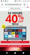One Day Only 50% off Selected Lines, 40% off Tech