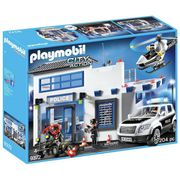 Playmobil 9372 City Action Police Station Bundle Free CLICK & COLLECT