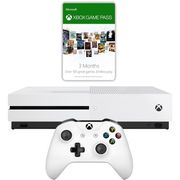 Xbox One S 1TB with 3 Month Game Pass & 3 Month Gold - White Only £199