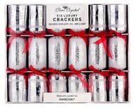 6 X Swarovski Luxury Christmas Crackers