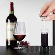 VS05S Wine Vacuum Stopper - BLACK