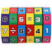 6-Layer 7.2cm Height Puzzle Cube Education Learning Math Toy for ChildrenL